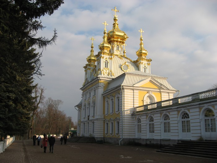Новогодний тур в Петербург - Петергоф - Большой дворец