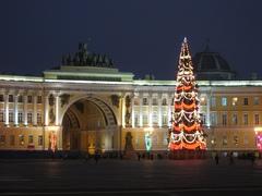 Тур в Петербург - Дворцовая площадь