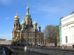 Тур в Петербург - cобор Спас на крови